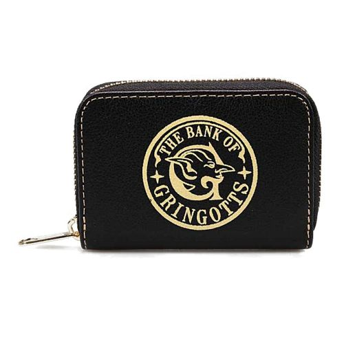 Harry Potter Gringotts Bank Logo Small Coin Purse Wallet